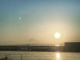 江の島からの富士山の写真・画像素材[1099651]