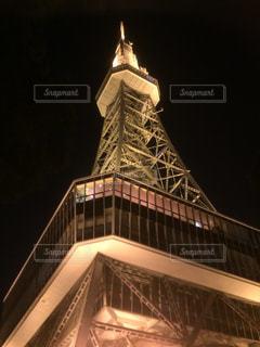 夜のタワーの写真・画像素材[1100508]