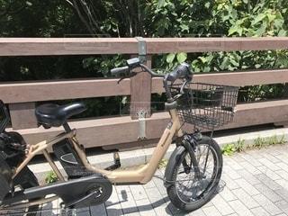 サイクリングの途中での写真・画像素材[1197738]