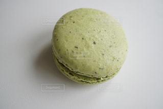 緑マカロンの写真・画像素材[1199628]