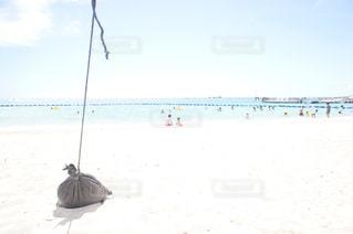白い砂浜の写真・画像素材[1209159]