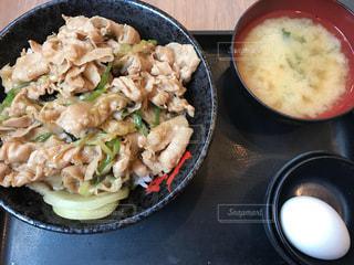 スタミナ丼の写真・画像素材[1404310]