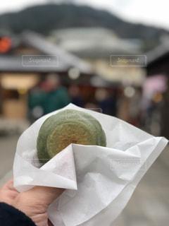 よもぎ餅の写真・画像素材[1101618]