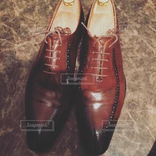 今日はこの革靴かなの写真・画像素材[1101708]