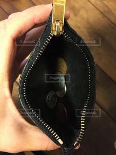 小銭と財布の写真・画像素材[1101713]