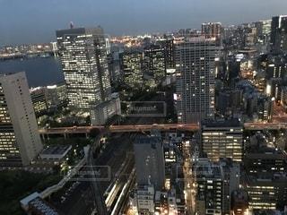 都市の高層ビルの写真・画像素材[1216141]