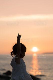 夕日の写真・画像素材[1400679]