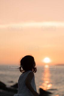夕日の写真・画像素材[1400680]