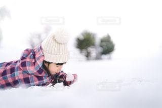雪遊びの写真・画像素材[2918372]