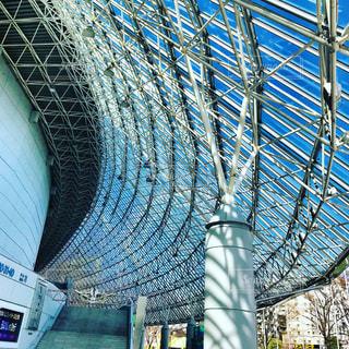 東京ドームのトラス構造の写真・画像素材[1102147]