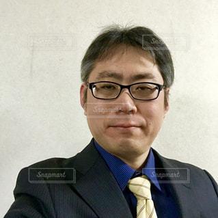 眼鏡をかけた男性の写真・画像素材[1133127]