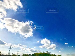 青空の下の写真・画像素材[1134801]