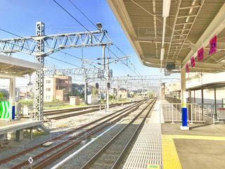 駅のホームの写真・画像素材[1140324]