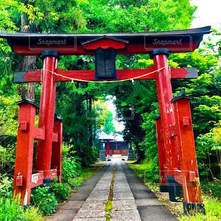 風渡野天神社の参道 - No.1144407