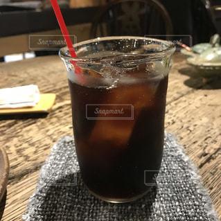 カフェのアイスコーヒーの写真・画像素材[1189741]