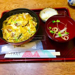 鰻玉丼の写真・画像素材[1209791]