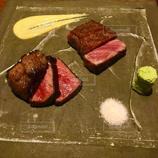 和牛のステーキの写真・画像素材[1224380]