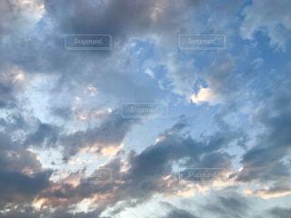 空の雲の写真・画像素材[1240604]