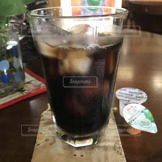 アイスコーヒーの写真・画像素材[1334400]