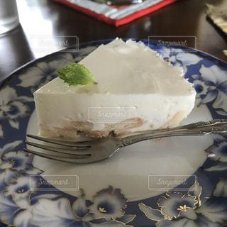 レアチーズケーキの写真・画像素材[1334402]