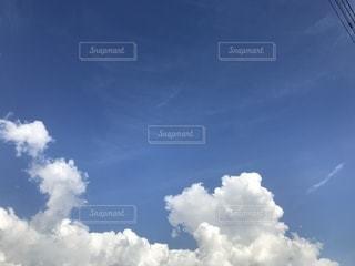 白雲の写真・画像素材[1343663]