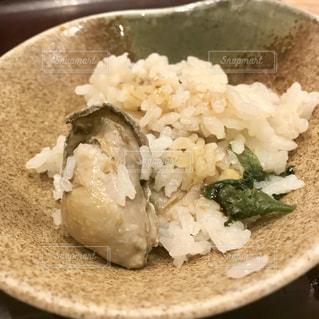牡蠣めしの写真・画像素材[1365885]