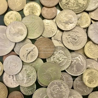 外国通貨の写真・画像素材[2672068]
