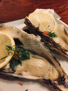 生牡蠣の写真・画像素材[1115665]