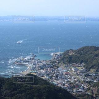 千葉県の鋸山、地獄のぞきからの絶景の写真・画像素材[1144962]