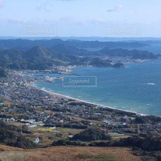 千葉県の鋸山、地獄のぞきからの絶景の写真・画像素材[1144963]