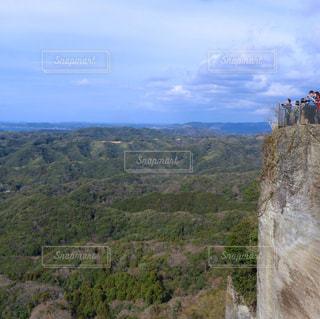 千葉県の鋸山、地獄のぞきの絶景の写真・画像素材[1144966]