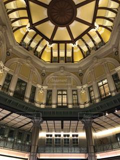 東京駅の丸の内北口改札の屋根ですの写真・画像素材[1198486]