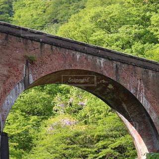重要文化財の4連アーチ橋めがね橋です。の写真・画像素材[1198879]