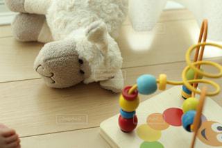 子供のぬいぐるみとおもちゃの写真・画像素材[1103293]