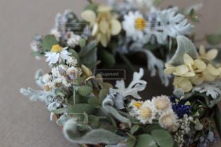 花のリースの写真・画像素材[1152214]