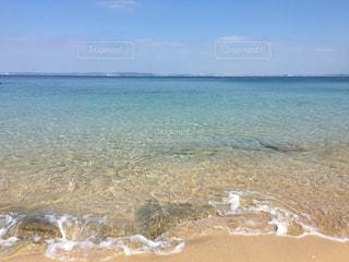 沖縄の綺麗なビーチの写真・画像素材[1104317]