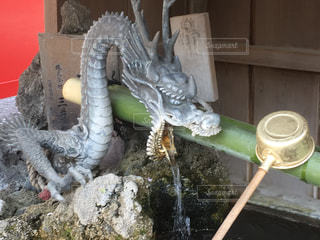 龍頭泉の写真・画像素材[1106311]