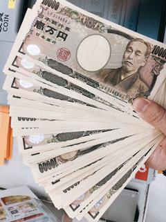 100万円の札束の写真・画像素材[2854445]