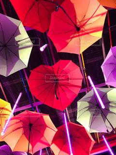 ハート傘の写真・画像素材[2650313]