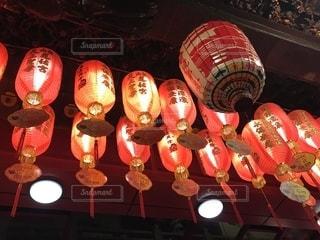 松山慈祐宮 灯の写真・画像素材[1335196]
