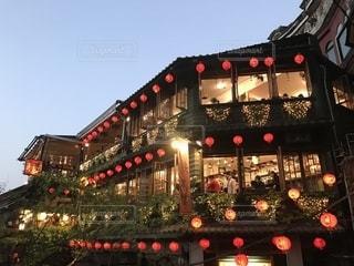 九份 茶藝館の写真・画像素材[1341760]