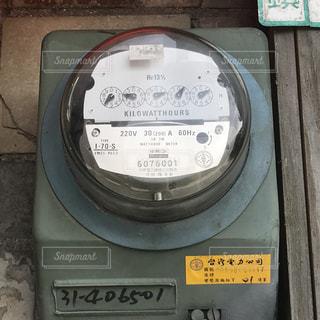 電気メーター 台湾の写真・画像素材[1343139]