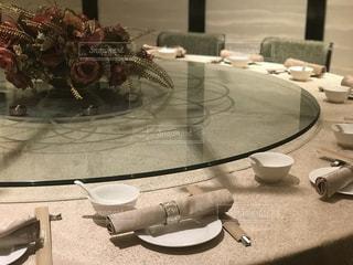 中華料理 ターンテーブルの写真・画像素材[1348182]