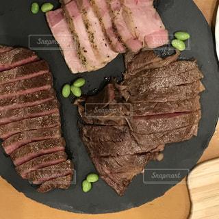 牛肉 盛り合わせの写真・画像素材[1348196]
