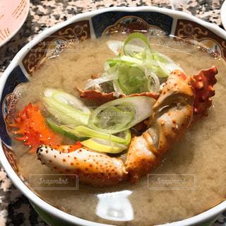 回転寿司 根室花まる 海鮮汁の写真・画像素材[1358810]