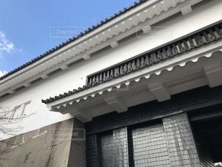 大阪城 門の写真・画像素材[1360159]