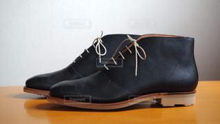 スコッチグレイン ブーツの写真・画像素材[1399285]