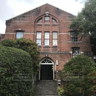 同志社大学 有終館の写真・画像素材[1420827]