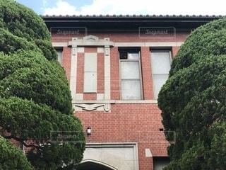 同志社大学 致遠館の写真・画像素材[1420829]