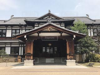 奈良ホテル本館の写真・画像素材[1505610]